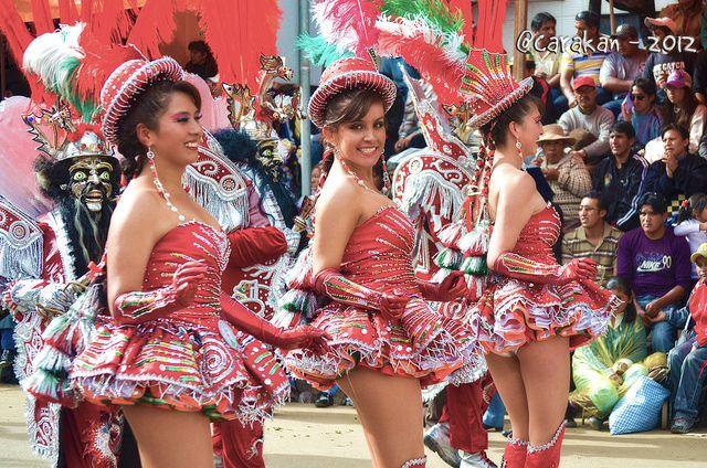 Morenada en el Carnaval de Oruro #orurocarnival2014