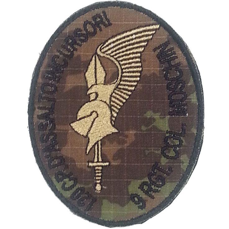 Patch Omerale 9° Reggimento COL MOSCHIN 120^ Compagnia d'assalto