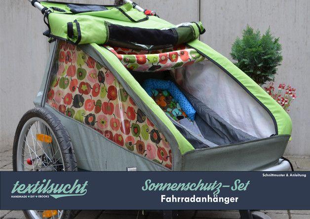 Ebook Sonnenschutz Fahrradanhänger Schnittmuster