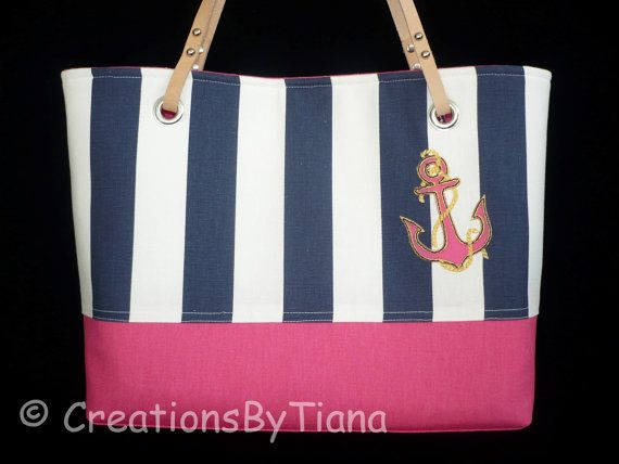 Hey, I found this really awesome Etsy listing at https://www.etsy.com/listing/188466797/nautical-purse-navy-blue-stripes-hot