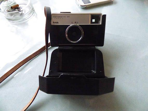 Kodak Instamatic 33 Film Camera with Case