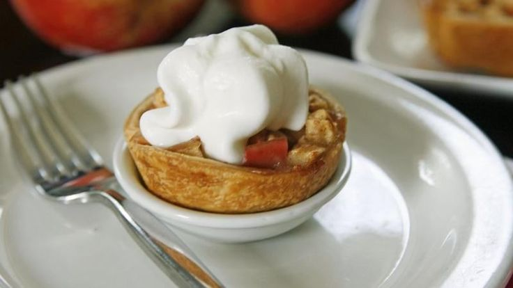 Single serve versions of apple pie make it easier to serve and eat, and perfect to tuck in a lunchbox or feature on a dessert tray. This new twist on a classic recipe is easy to prepare with Pillsbury refrigerated pie crust.
