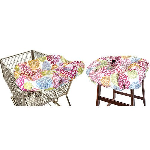 Itzy Ritzy Shopping Cart and High Chair Cover - Fresh Bloom