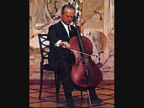 Pierre Fournier performs Kol Nidrei, op. 47 by Max Bruch