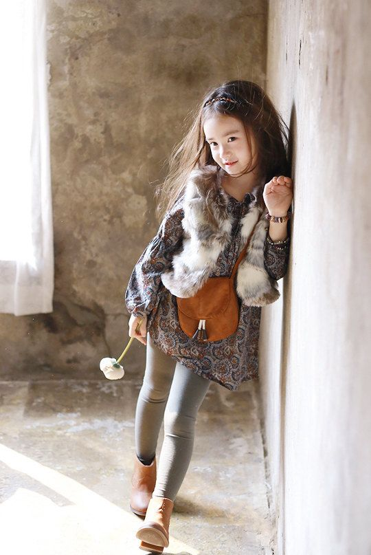 Girls fur vest for Halloween, Everyday, Ethnic, special design! faux fur for Autumn winter 24M~10Years old Made to order on Etsy, $32.00