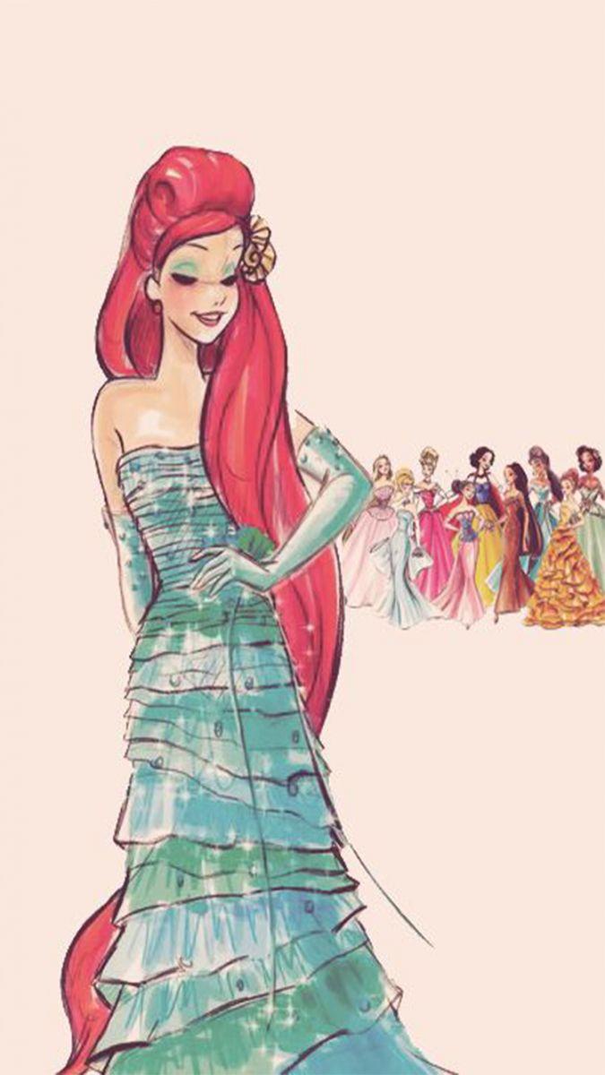 Disney Princess Couture: Bildschirmschoner für Mobiltelefone