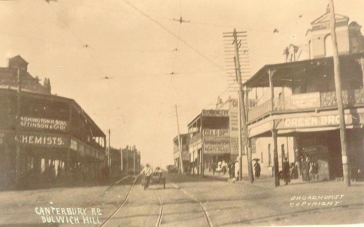 Canterbury Rd,Dulwich Hill in inner west of Sydney.