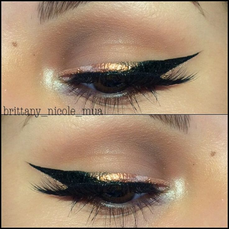 I love this look from @Sephora's #TheBeautyBoard: http://gallery.sephora.com/photo/gold-black-ombr-liner-17126