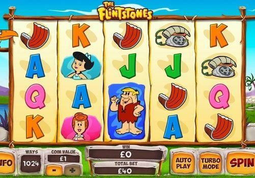 Играть в автомат The Flintstones на деньги с выводом. The Flintstones – игровой автомат от компании Playtech, в котором вы сможете присоединиться к приключениям семьи из каменного века. Начните играть на реальные деньги с выводом в этот аппарат и окунитесь в веселую атмосферу изв