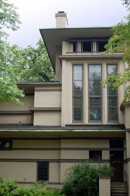 Fricke House | Flickr - Photo Sharing! Prairie Style HousesUnique ArchitectureFrank  Lloyd WrightModern ...