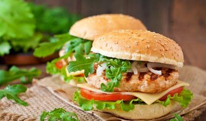 Recette de hamburger light maison