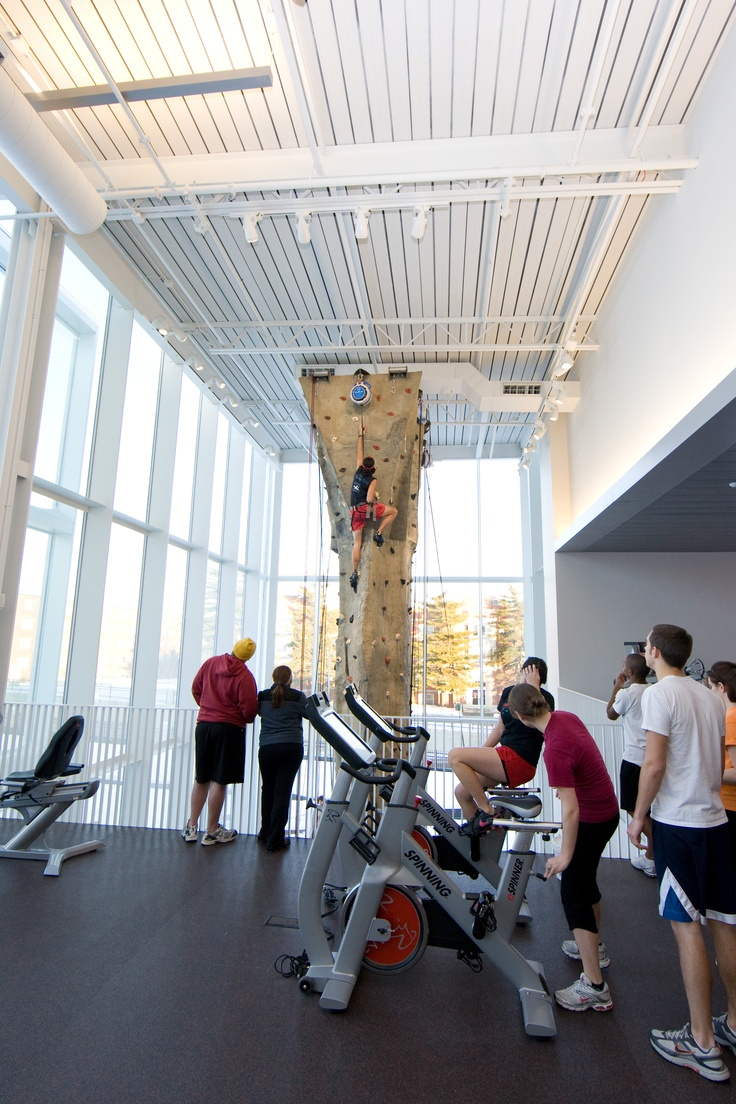 Whether you're into rock climbing, taking classes, playing team sports or lifting weights, the UCM Student Rec and Wellness Center has everything to keep you fit and active.