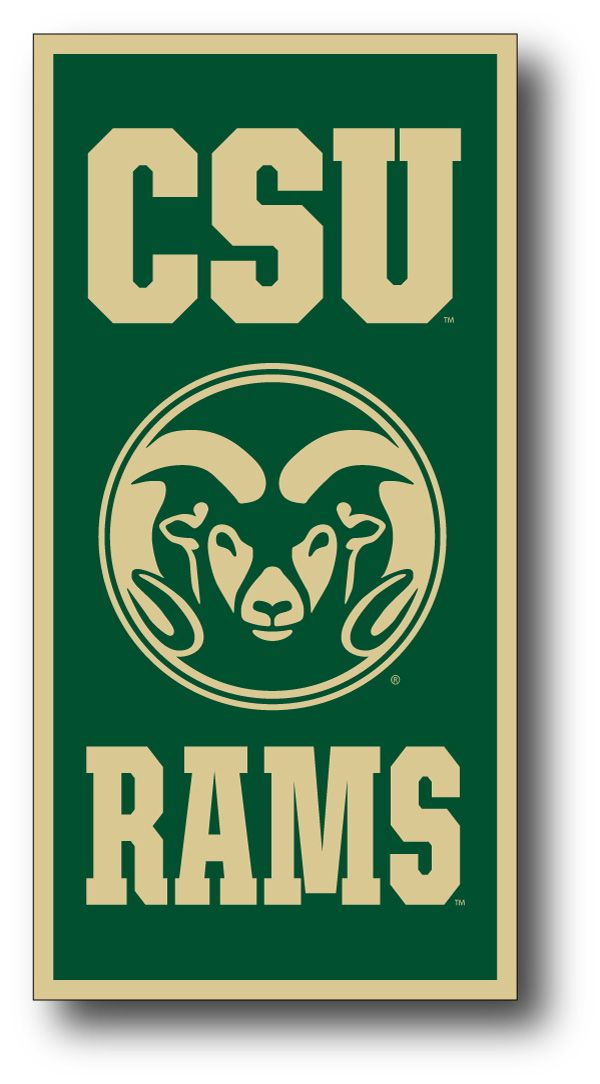 Colorado State University Csu Rams Banner Home Design