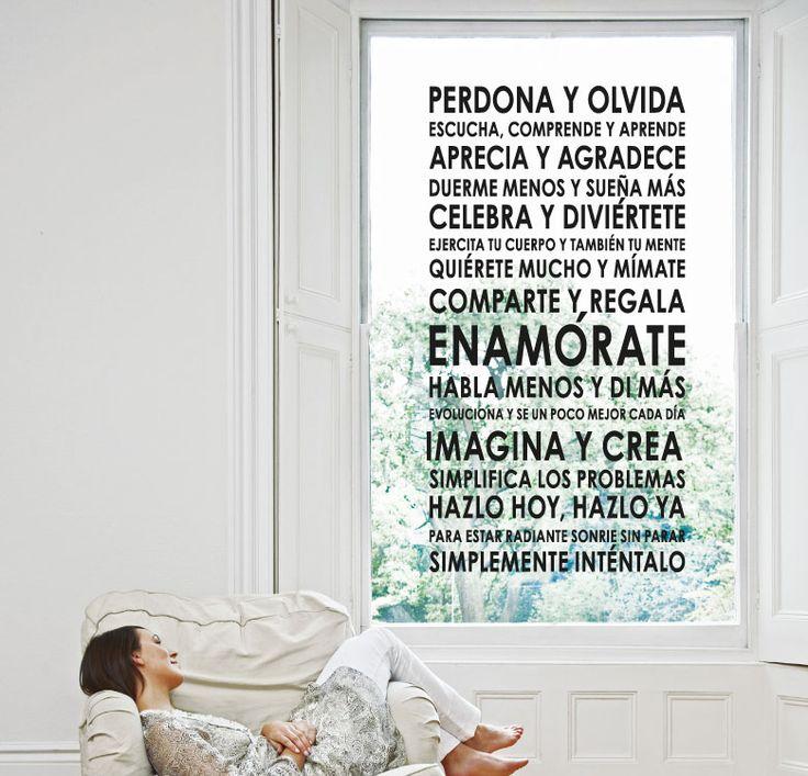 LA VIDA ES BELLA http://www.myvinilo.com/vinilos-decorativos-textos/la-vida-es-bella.html Como la vida misma. Vinilos decorativos, hogar, decoración, interiores, pared, diseño, wall decals, stickers, decoration, design, poetry, poesia, words, palabras, frases, dichos.