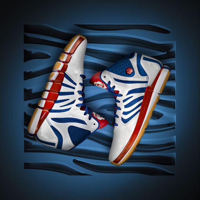 Adizero Crazy Light Orange Blue Adidas 2 Low Derrick Rose Basketball Shoes Best Design