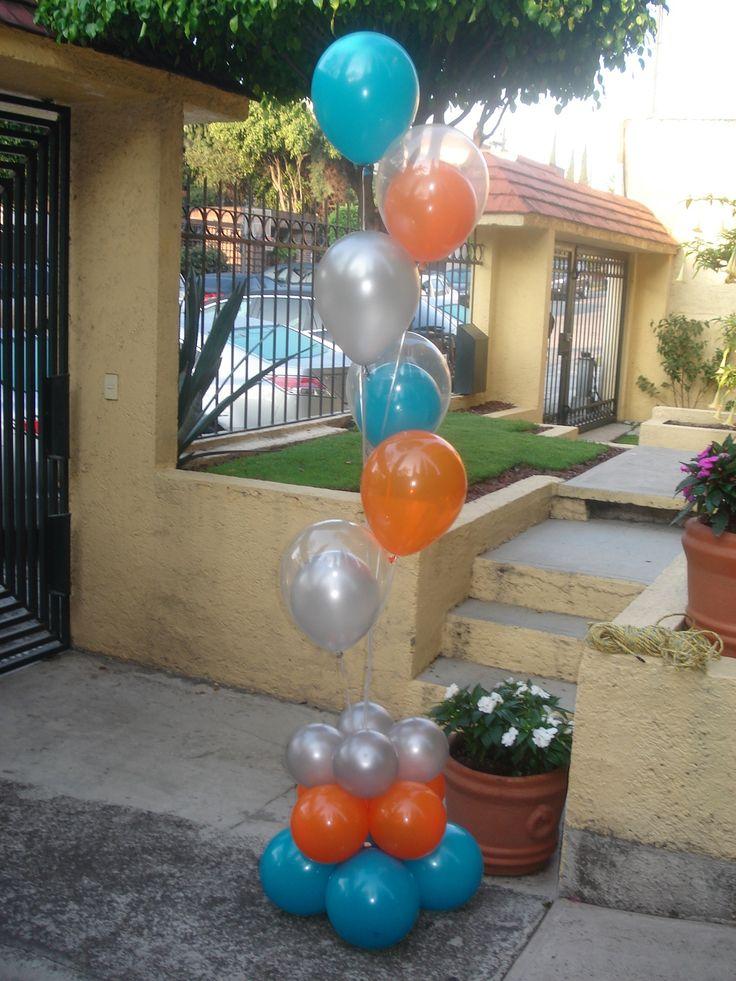 16 mejores im genes en decoraciones con globos magicolores for Decoracion para comercios
