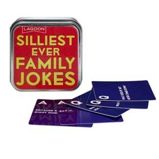 Family jokes box £3, Lakeland