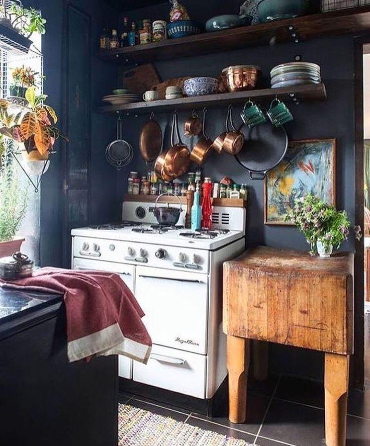 Pin By Tara On 8th Street Home In 2019 Bohemian Kitchen European Home Decor Interior Desig