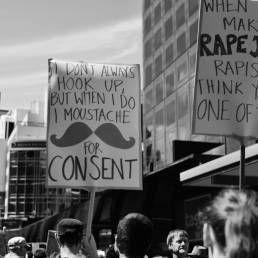 Stop Rape Now march, Wellington. Nov 2013. Photo Sophi Reinholt.
