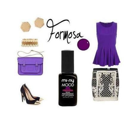 FORMOSA Un colore molto raffinato ma nello stesso tempo decisamente intrigante. Una tonalità di viola arricchita da un tocco di rosa orientale...Rock and Chic si combinano alla perfezione!  Be Glamour with MI-NY. SHOP ONLINE http://www.minyshop.com/it/mood-colors/628-formosa.html #formosa #semipermanent #violet #miny #minycosmetics #cosmetics #fashion #style #cool