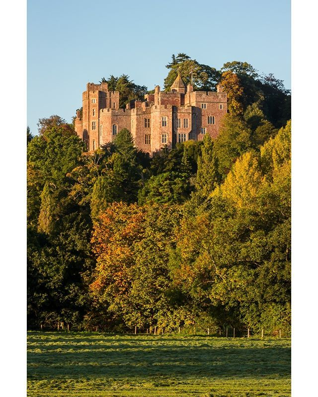 ICYMI: Dunster Castle in the Autumn Sun. Dunster Castle is a former motte and bailey castle, now a country house, in the… #nationaltrust