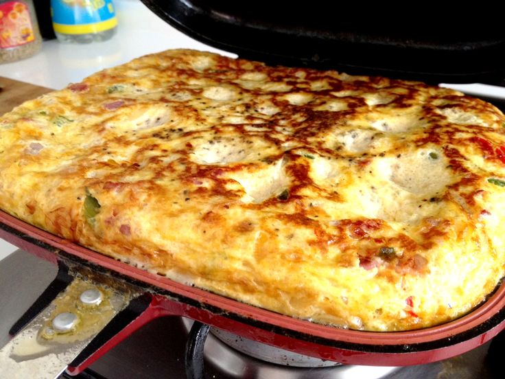 Egg Frittata by HappyCall Pan