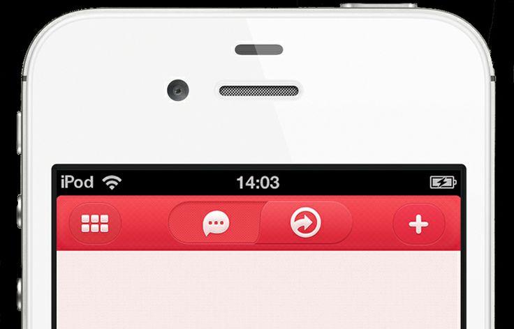 Nav Bar UI - subtle texture
