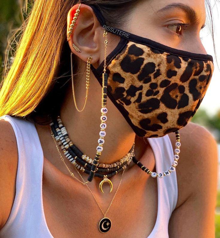 Zapatos Animal Print, Vestidos Animal Print, Fashion Jewellery Online, Necklace Holder, Blue Ties, Black Mask, Fashion Face Mask, Diy Face Mask, Face Masks