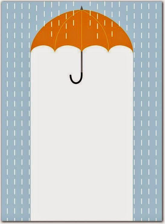 Escola Dominical Infantil ツ: Borda: Sombrinha, guarda-chuva