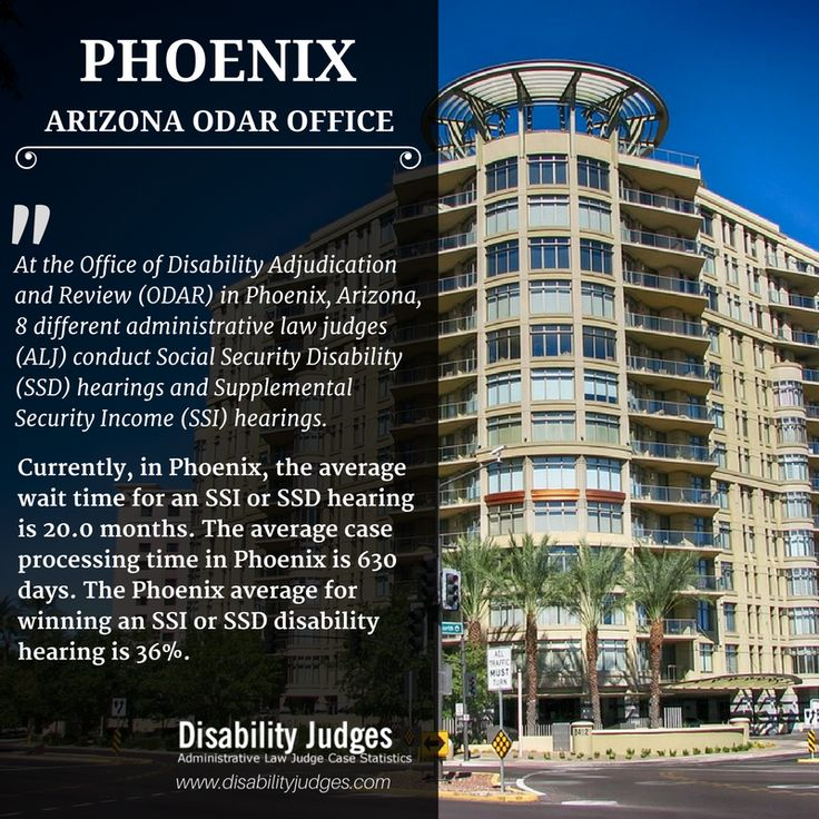 Know The Detailed Information About The Hearing Offices And The  Administrative Law Judges (ALJ) That Work In PHOENIX, ARIZONA Visit: ...