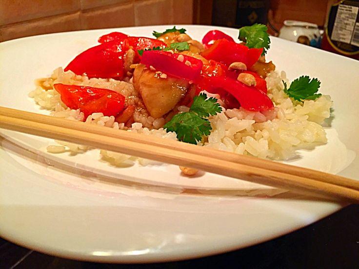 Курица Гунбао (Кунг Пао, 宫保鸡丁, Kung Pao Chicken)