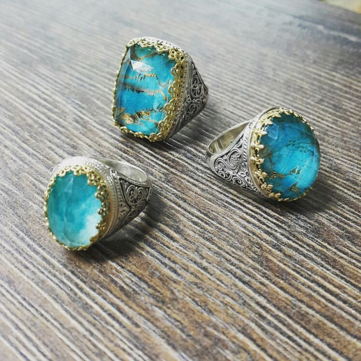 Gerochristo jewelry Aegean colors collection Rings with doublet stones