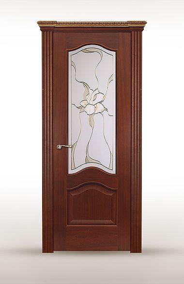 Межкомнатная дверь «Беличе». Отделка «рамиада» #дверирулес #двери #межкомнатные #русский_лес