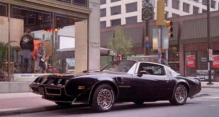Ferrari Driving School >> 1979 Pontiac Firebird Trans Am from Rocky II (1979) | Pontiac F-Body 1979 to 1981 | Pinterest ...