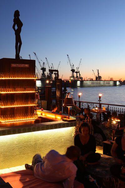 #Hamburg #Strandpauli #Beachclub #Entspannung #Hafen