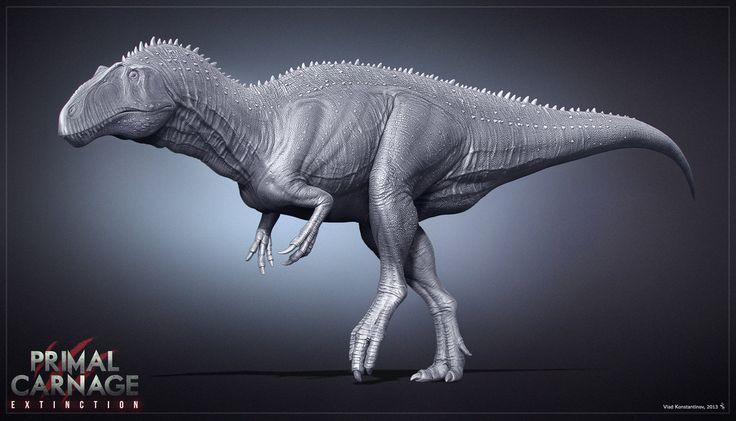 Acrocanthosaurus. Primal Carnage. WIP by Swordlord3d on DeviantArt