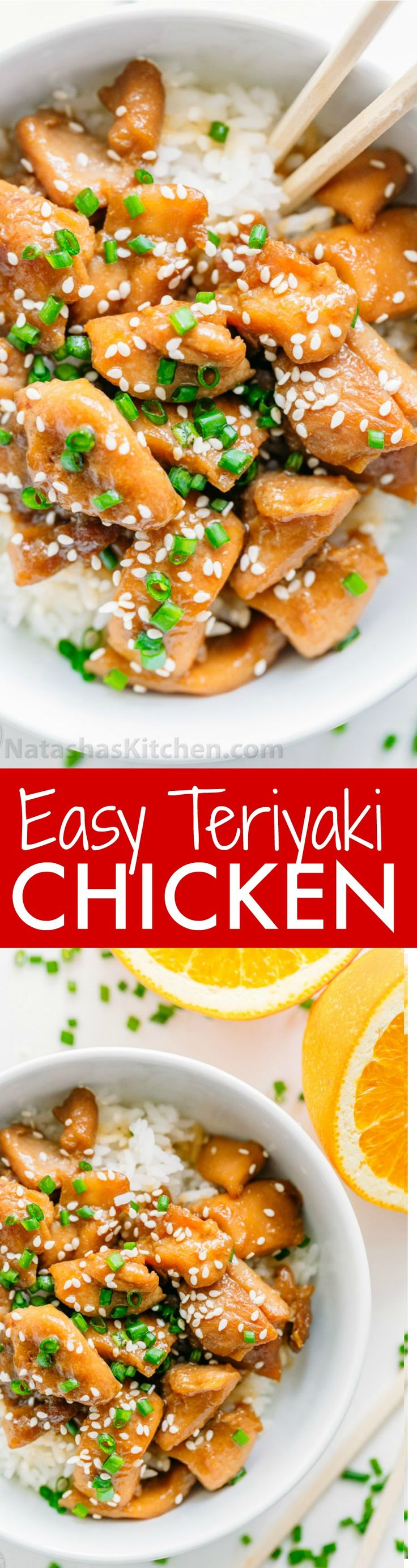 894 best quick easy recipes images on pinterest cooking food this chicken teriyaki easy to make and the sauce is just right a chicken teriyaki recipe that totally satisfies the craving for takeout only way better forumfinder Images