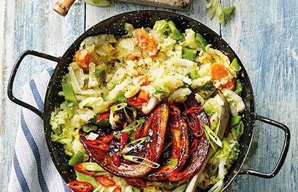 Afgelopen week verraste mijn Odiin groenten pakket mij met wortelpeterselie. Een stevige witte wortel met een frisse kruidige smaak. Hier een eenvoudig salade...
