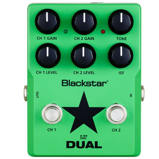 Blackstar+LT-DUAL+Pédale+de+Distortion+2+Canaux