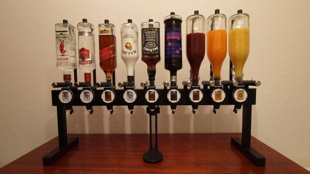 Alkobot Drink Machine - Robot Cocktail Maker