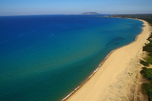Navarino Dunes Beach The beach in front of Navarino Dunes at Costa Navarino   #beach #greece #messinia #costanavarino