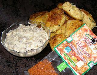 W Mojej Kuchni Lubię.. : kotlety z kaszy jaglanej z sosem pieczarkowym na p...