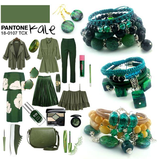 Jak zestawić ubranie z biżuterią? Pantone 2017 - eco-bizuteria.pl