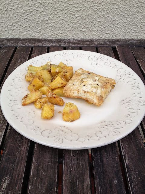 [Limited Edition]: Meatless Monday ~ Tofu assado com batata doce.