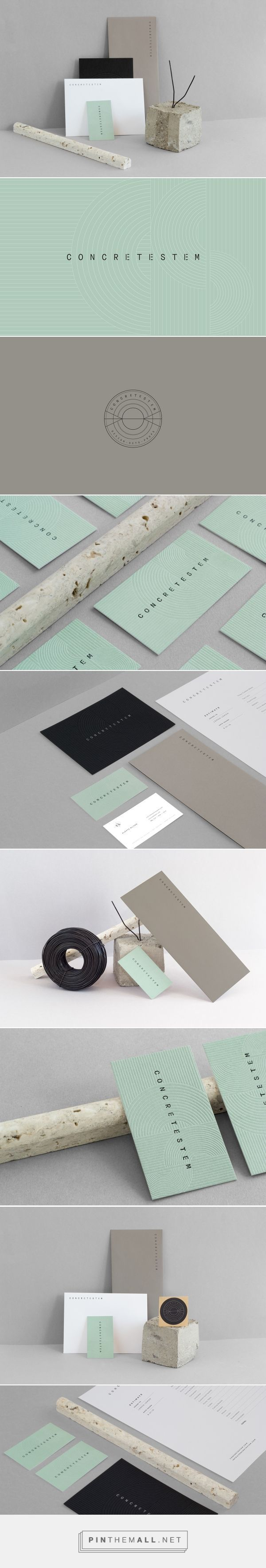 Concretestem Production Design and Props Styling Company Branding by Kati Forner