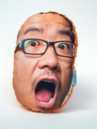 We make puffy photo pillows of your funny face! - PillowMob