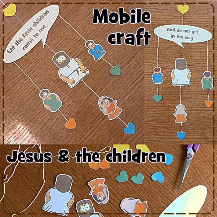 Jesus and the children craft