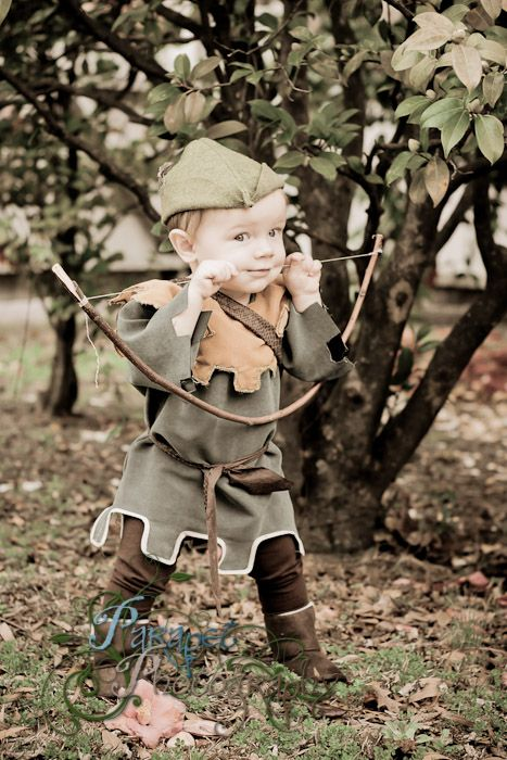 26507617324 All about Diy Handmade Kids Robin Hood And Friar Tuck Halloween ...