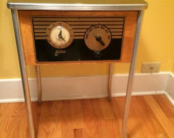 1940s Jetco Motel Clock Radio | CLOCK RADIOS | Pinterest | 1940s, Radios  And Clock