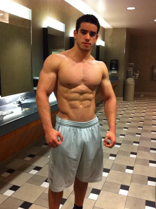 Sexy gym teacher